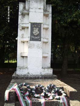 Az 1848/49 szabadságharc emlékműve